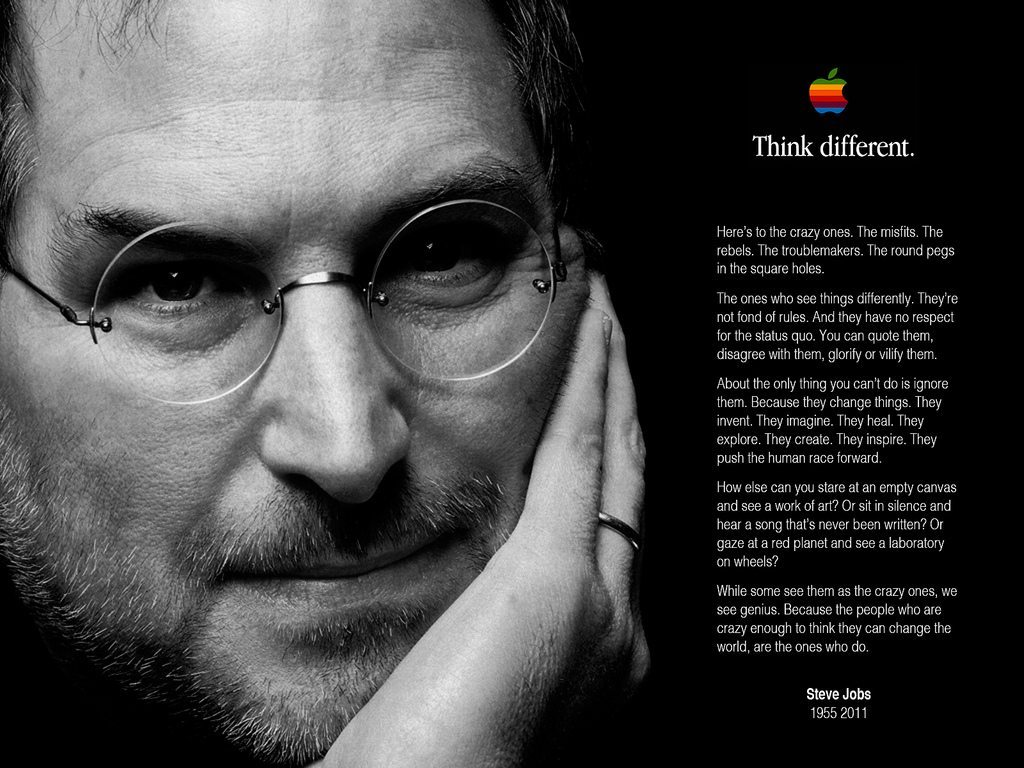 Steve Jobs And The Power Of Thinking Differently