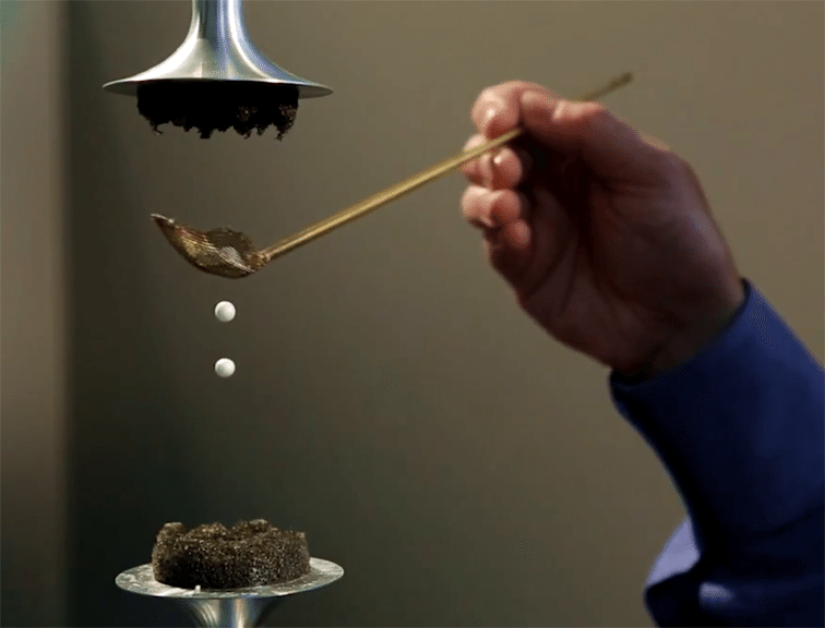 Watch Water Levitated By Sound