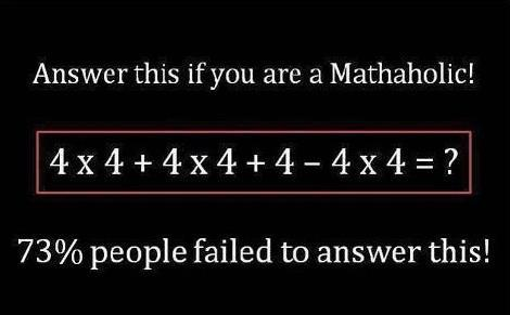 Solve This Simple Math Problem