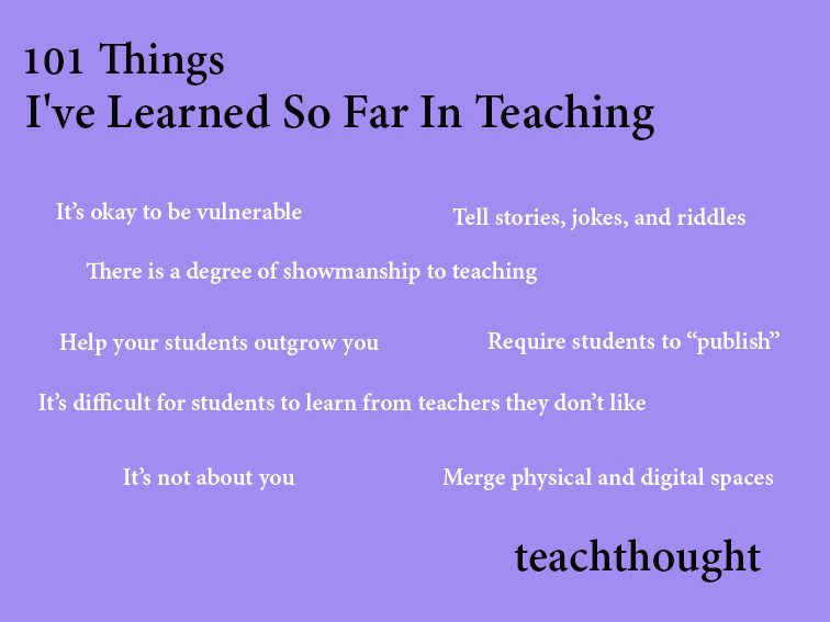 101-things-Ive-learned-about-teaching