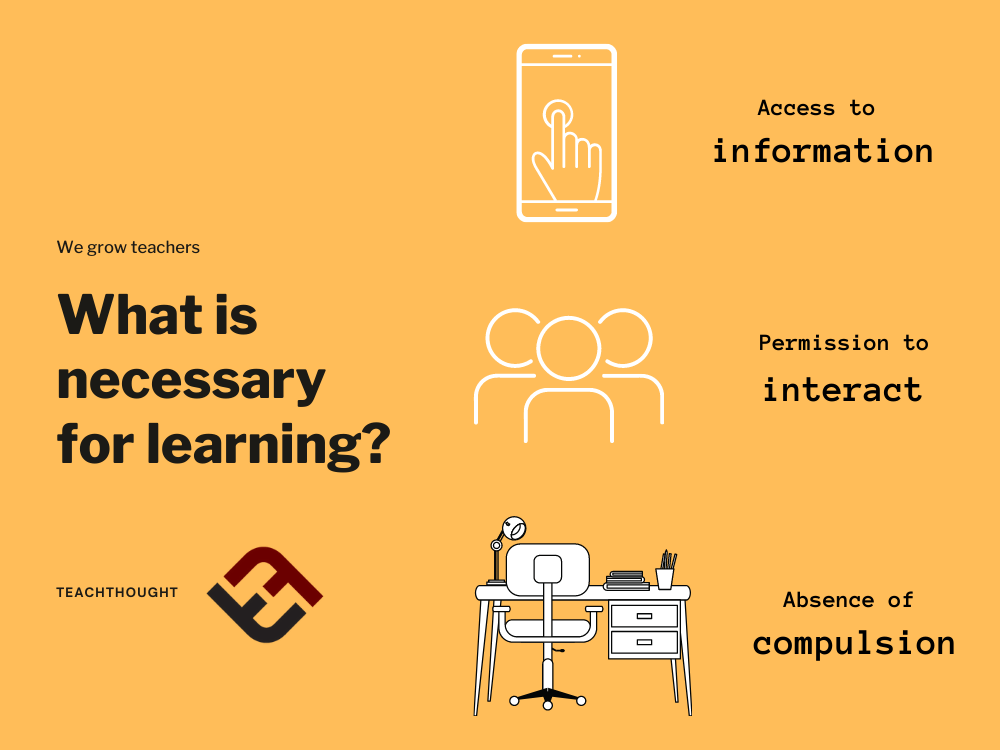 What Ingredients Are Necessary For Learning?