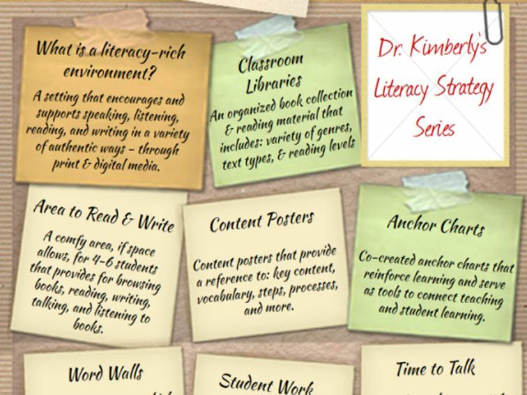 d8dd54cd5 The Elements Of A Literacy-Rich Classroom Environment