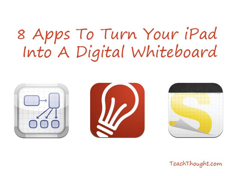 7 Apps To Turn Your iPad Into A Digital Whiteboard