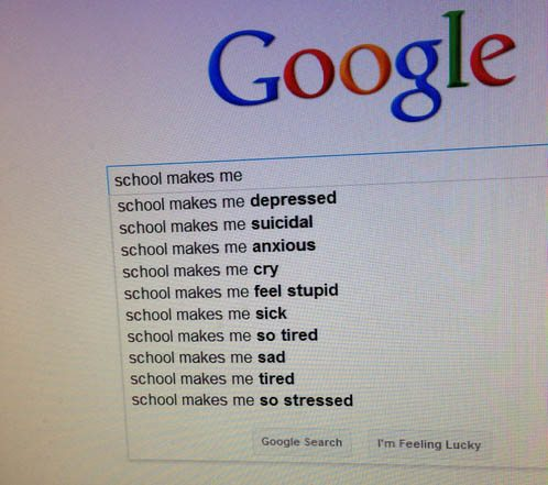 School Makes Me: A Picture Worth Thinking About