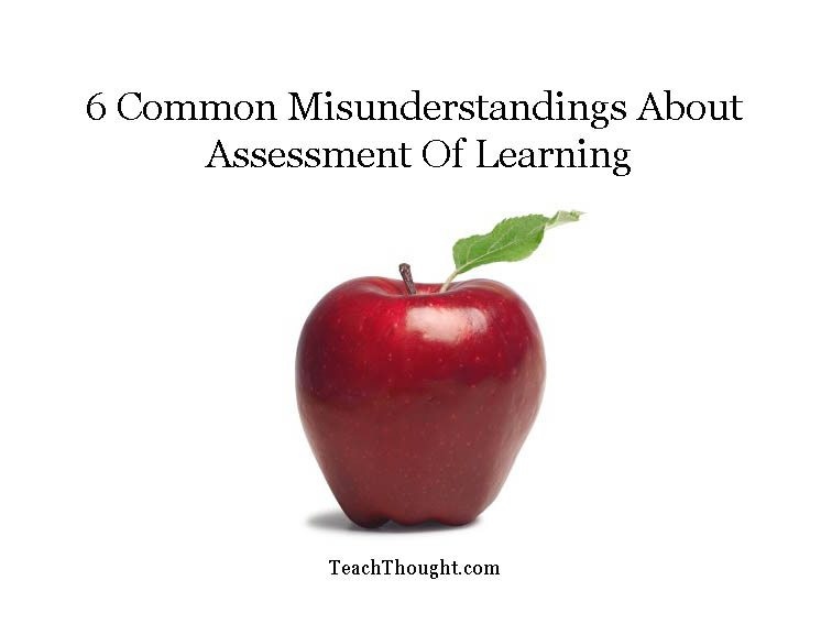 Common Misunderstandings About Assessment