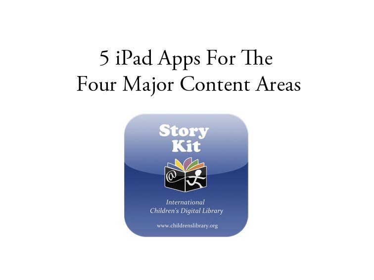 5-ipad-apps-for-the-4-major-content-areas