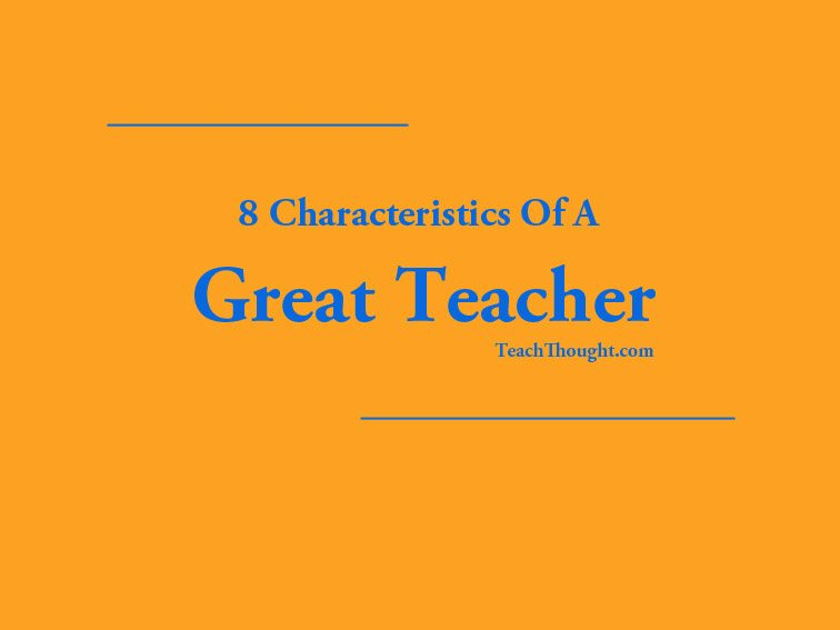 the characteristics of a successful teacher Characteristics of successful multi-grade teaching methods  characteristics of successful multi  the teacher's task is to arrange the.