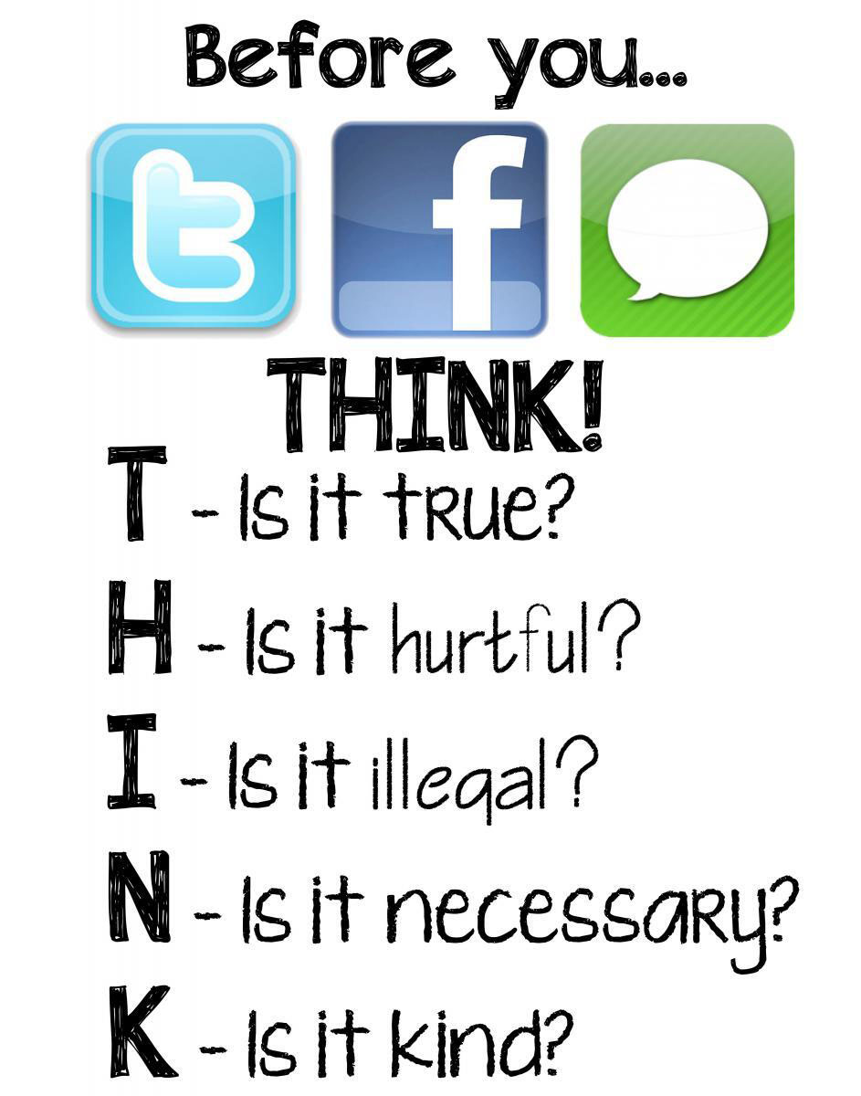 Awesome Digital Citizenship Poster to Use in Your Class ...