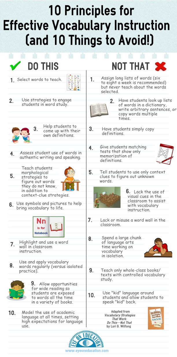 10 dos and donts for vocabulary instruction