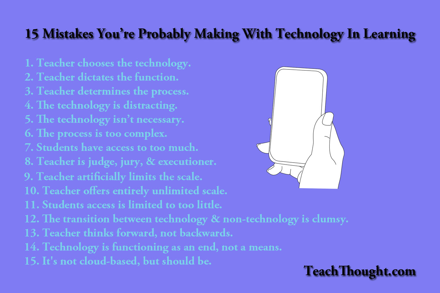 technology mistakes