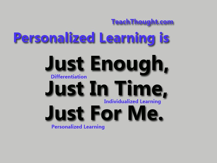 A Simple Way To Clarify Personalized Learning