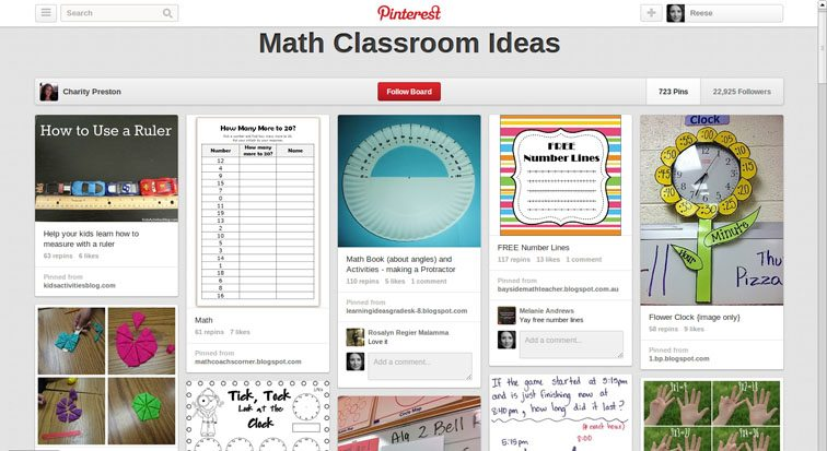 pinterest-math-classroom-ideas