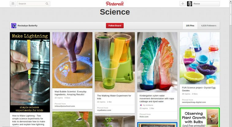 pinterest-science