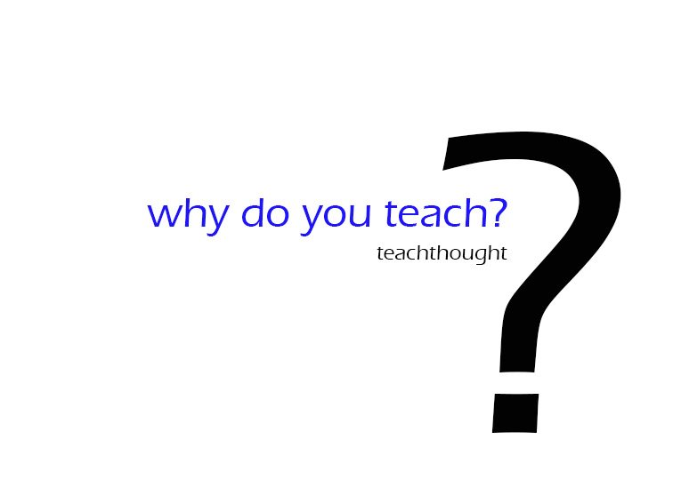 why-do-you-teach