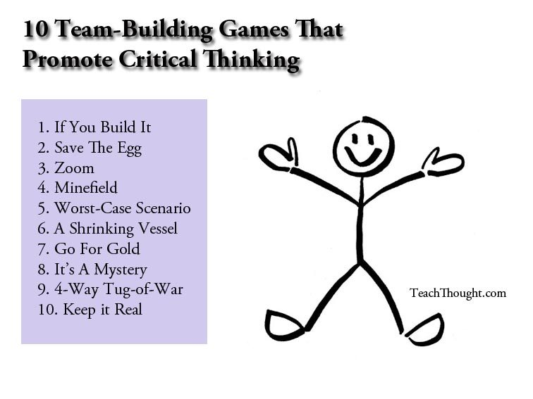 fun critical thinking activities adults There's a stigma to critical thinking training (and even the phrase critical thinking) that it is boring, stuffy, and too academic to be engaging but it.