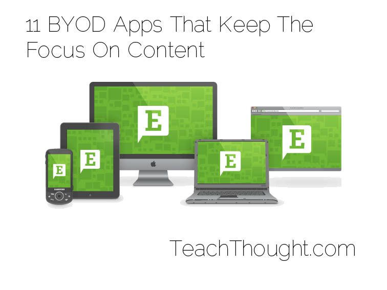11 BYOD Apps That Keep The Focus On Content