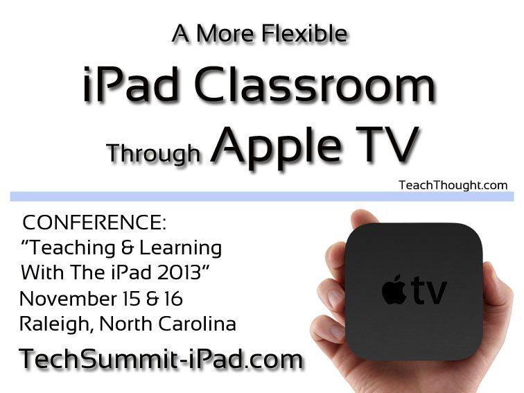 A More Flexible iPad Classroom Through Apple TV