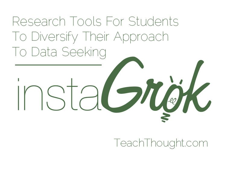 Research Tools For Students To Diversify Their Approach To Data Seeking