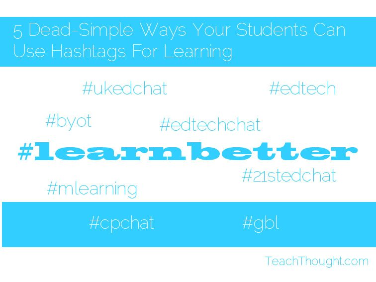 hashtags-for-learning