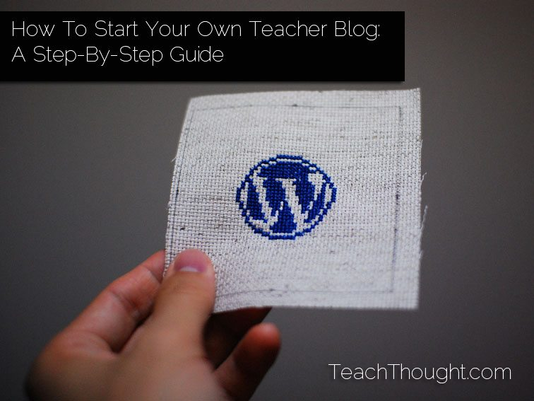 how-to-start-your-own-teacher-blog