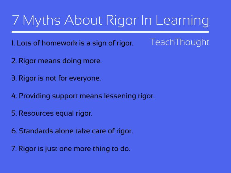 7-myths-rigor-in-learning