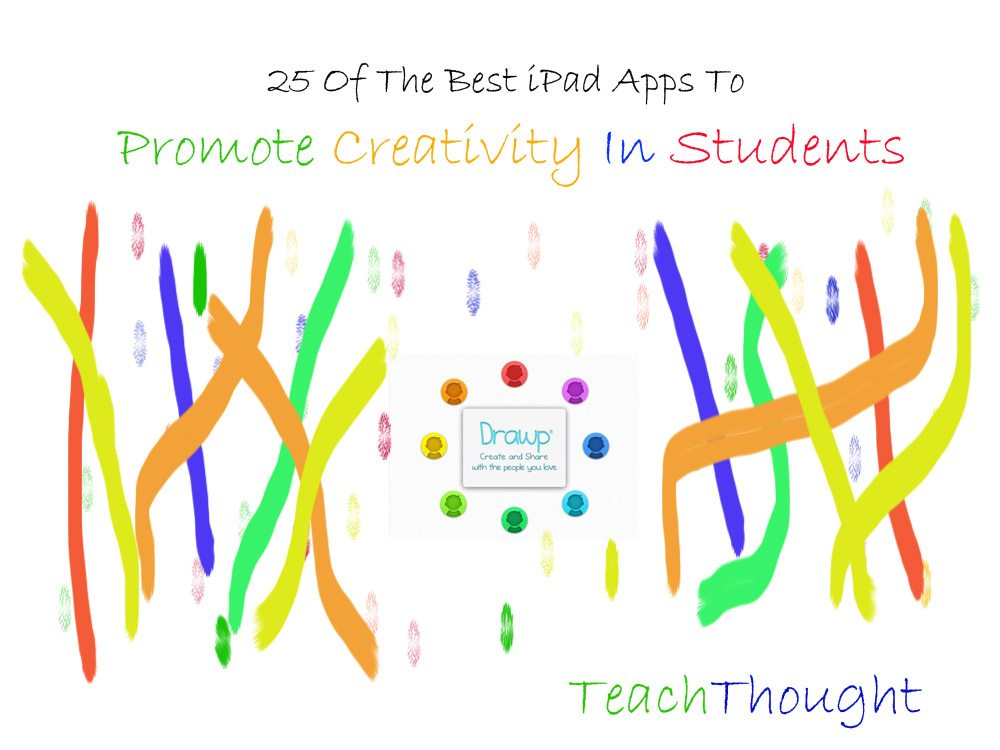 Creativity Apps Promote Creative Workflow In Students 25 Of The