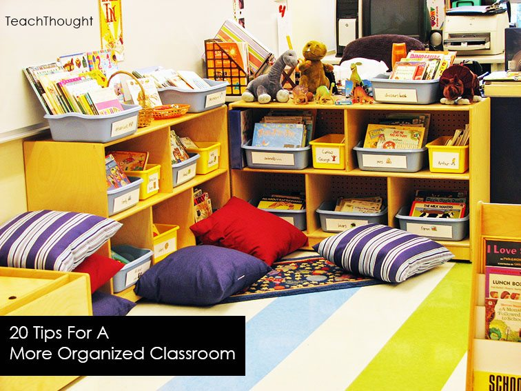 20 tips for a more organized classroom - Classroom desk organization ideas ...