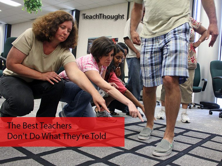 Can a teacher catch me if i do that?