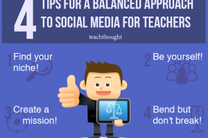 4 Tips For A Balanced Approach To Social Media For Teachers