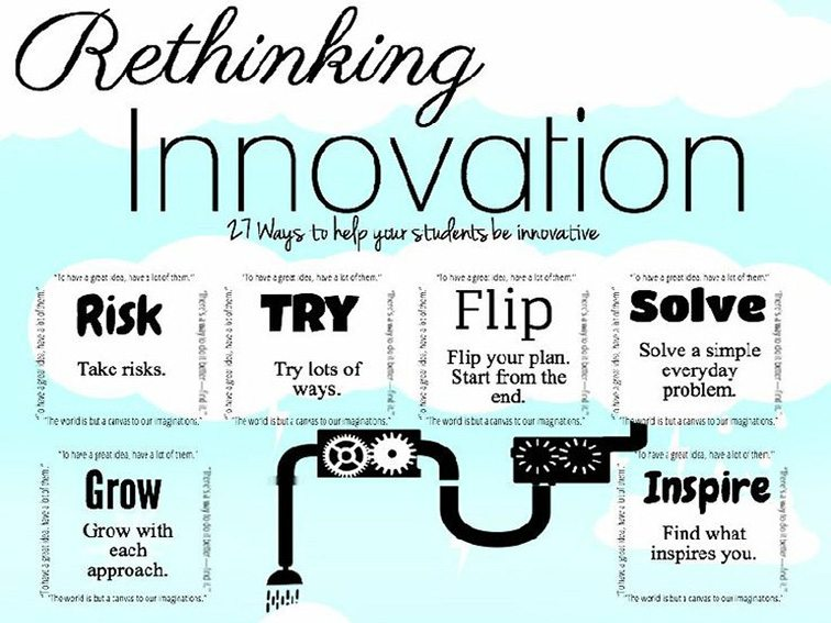 Innovative Classroom Quotes ~ Ways to inspire innovative thinking in students