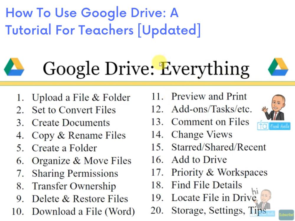 20 ways to use Google Drive