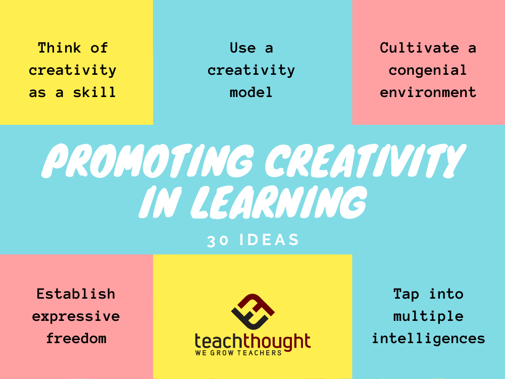 promote creativity in learning