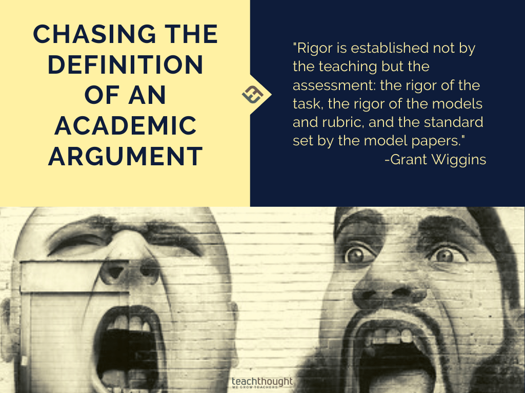 What's The Definition Of An Academic Argument