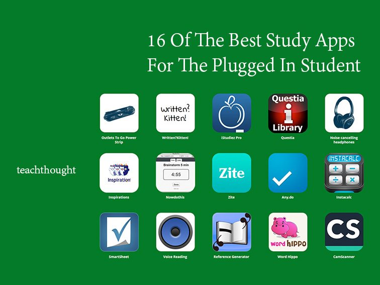 20 Of The Best Study Apps For The Plugged-In Student