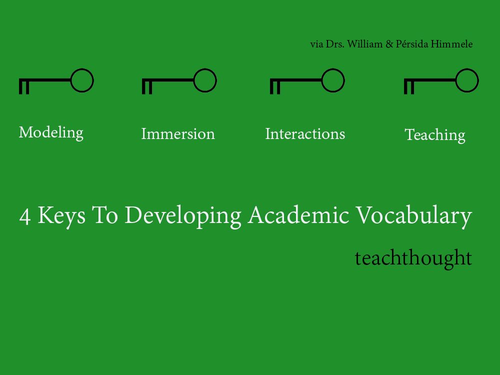 4 Keys To Developing Academic Vocabulary