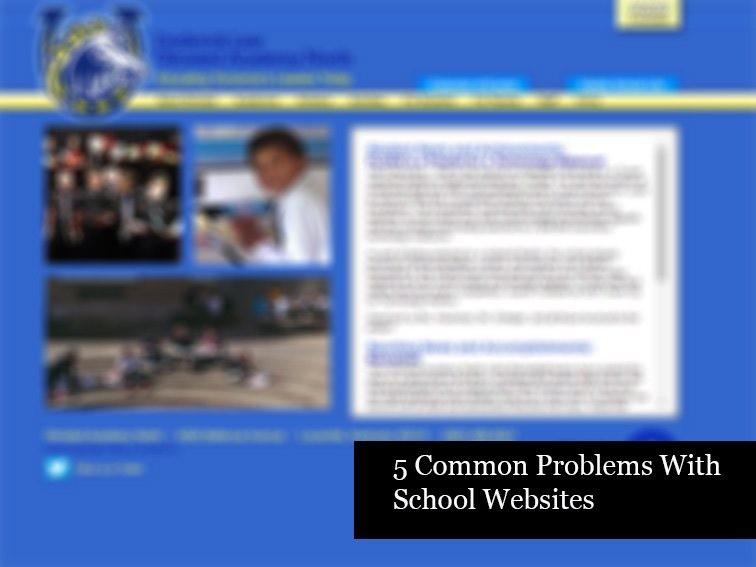 problems-school-websites