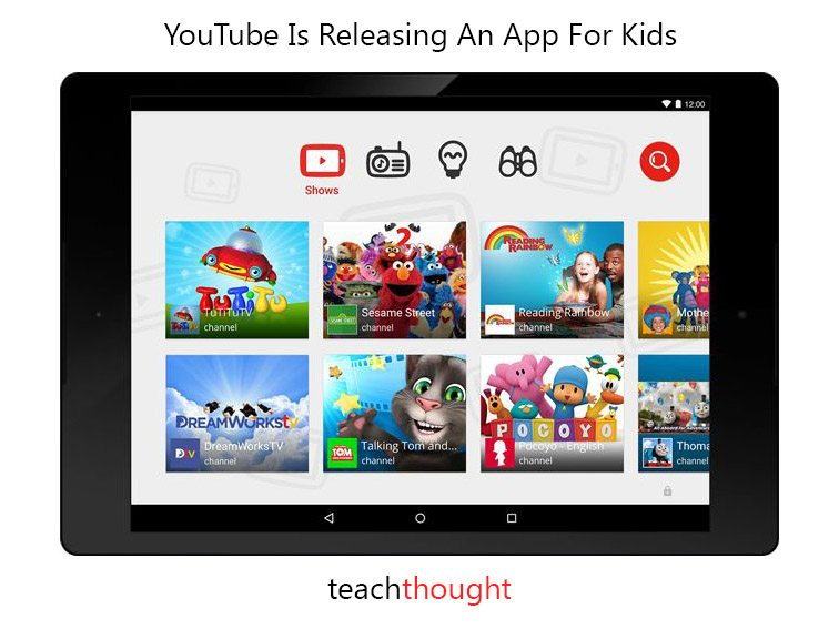 technology youtube kids android only