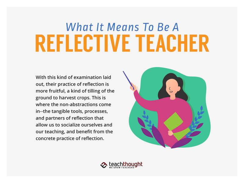 What It Means To Be A Reflective Teacher