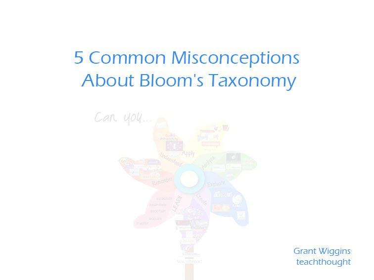 5 Common Misconceptions About Bloom's Taxonomy