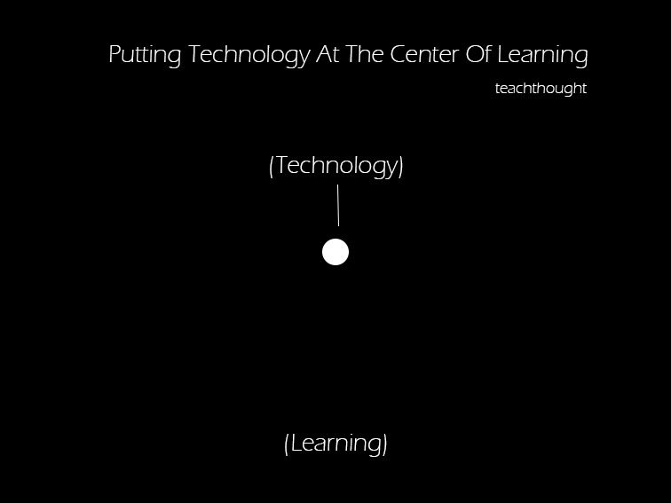 Putting Technology At The Center Of Learning