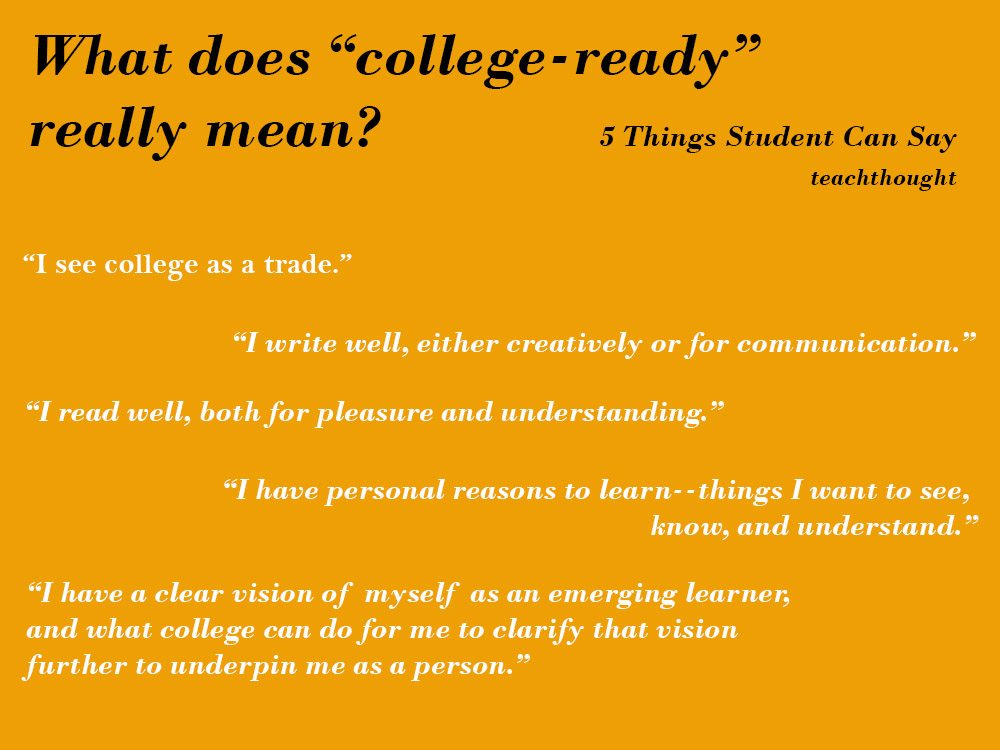 college-ready-students-say