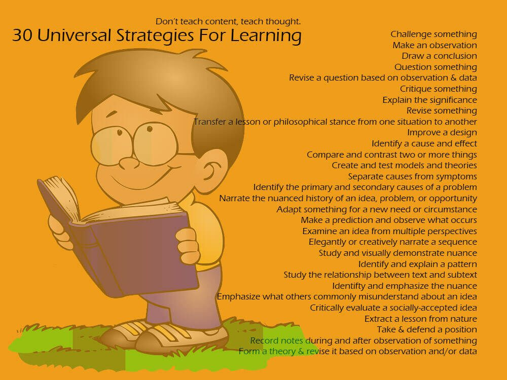 30 Strategies For Critical Learning