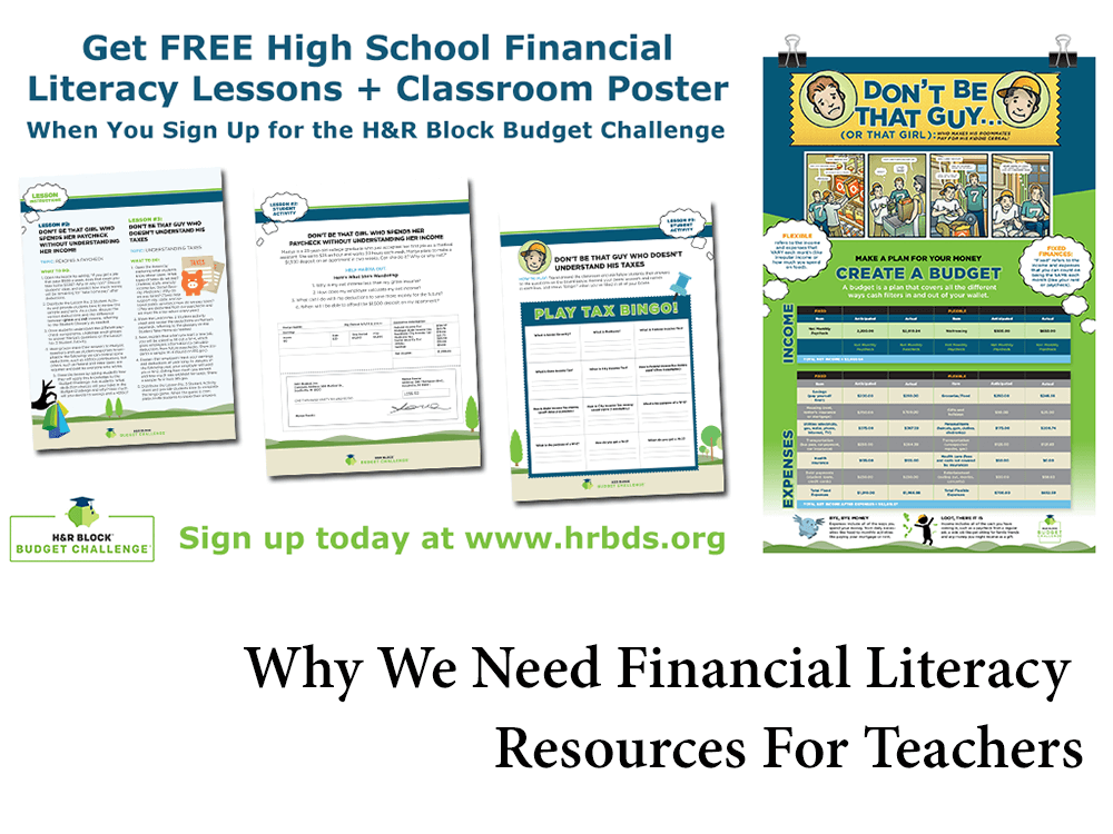 Why We Need Financial Literacy Resources For Teachers