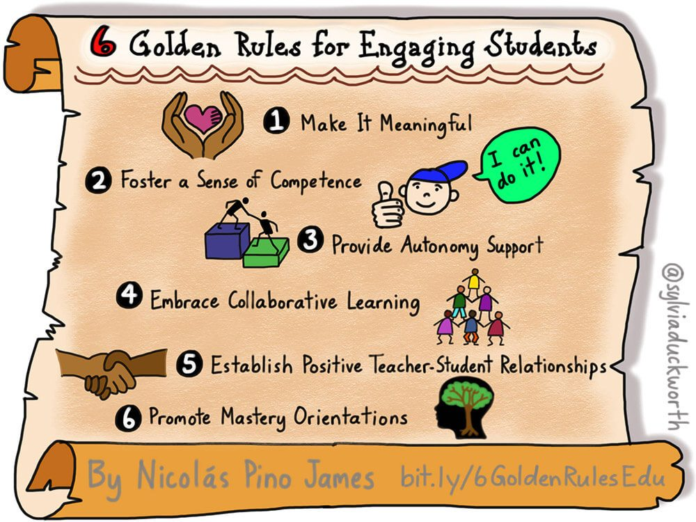 rules for engaging students