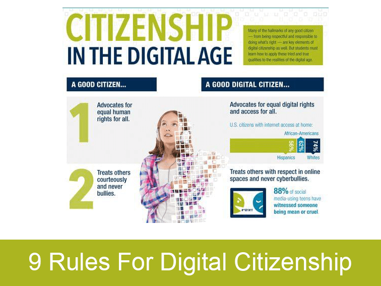 9 Rules For Digital Citizenship