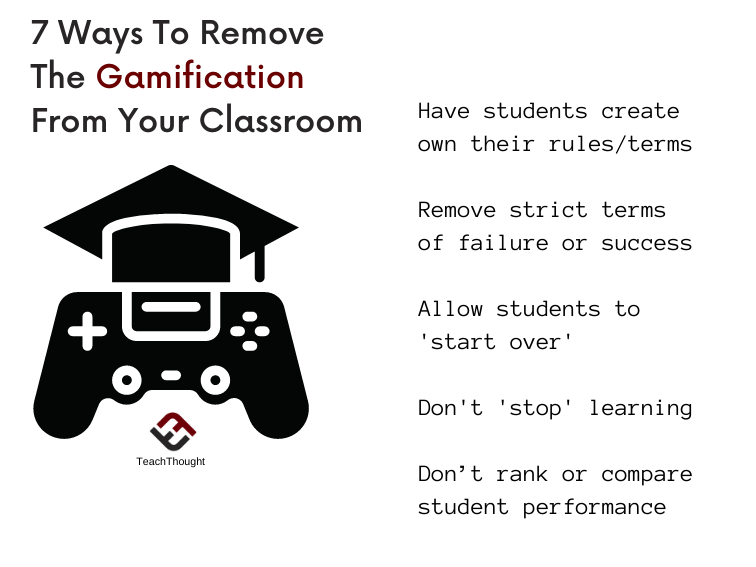 Ways To Remove Gamification From Learning