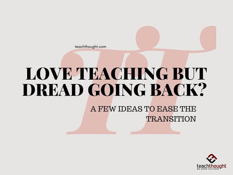Love Teaching But Dread Going Back-c