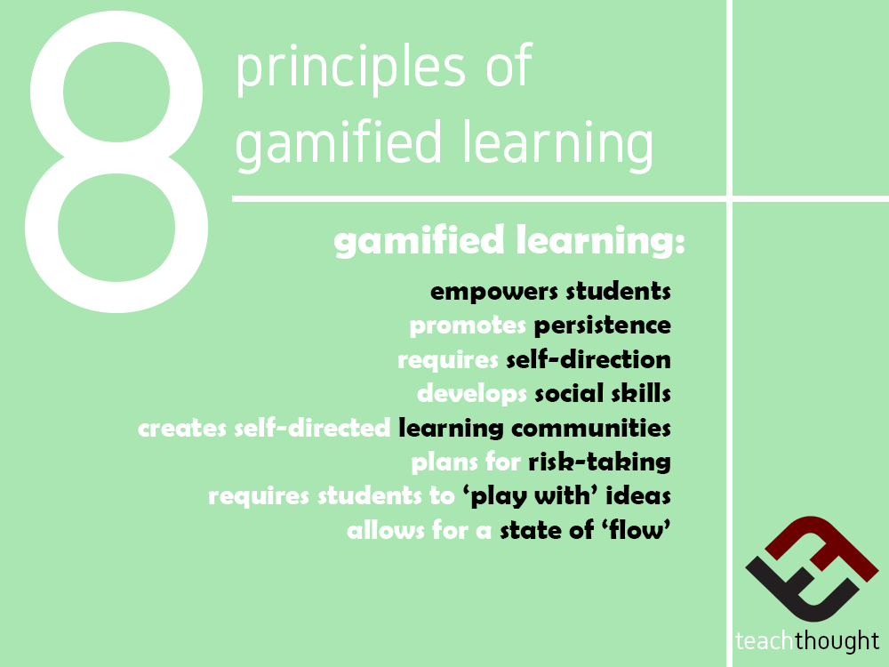 8 Principles Of Gamified Learning