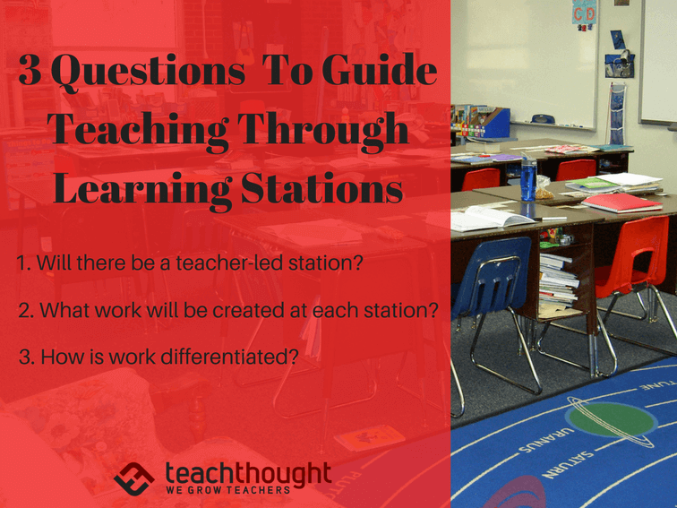 3 Questions To Guide Teaching Through Learning Stations
