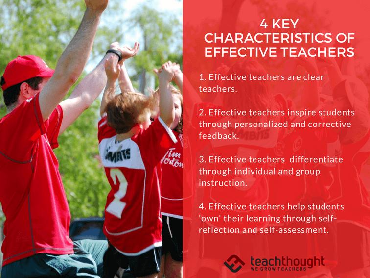 4 Key Characteristics Of Effective Teachers